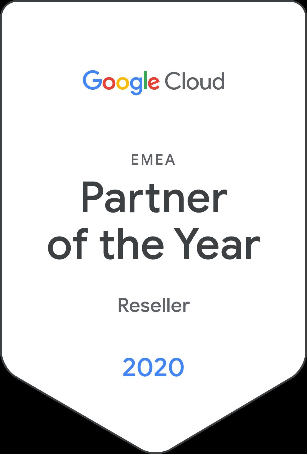 Partenaire de l'année 2020