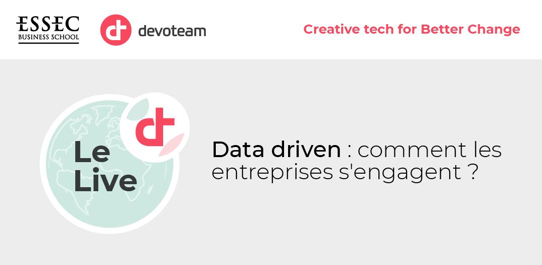 Data-driven: comment les entreprises s'engagent ?